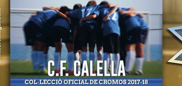 Col·lecció cromos CF Calella
