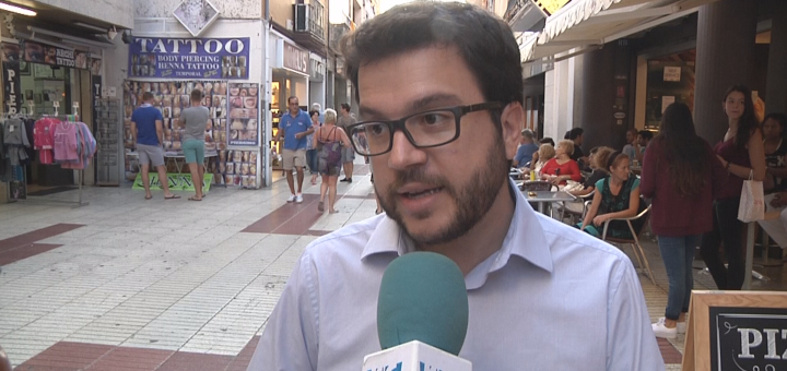Aragonès en un acte electoral de Junts pel Sí a Calella, l'any 2015