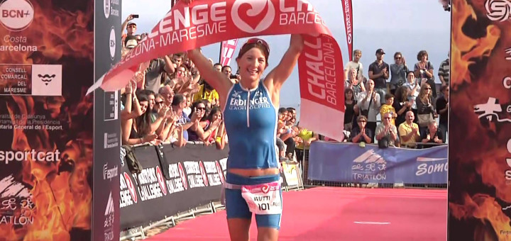Eva Wutti va guanyar la Challenge d'any 2013. Ara aspira a guanyar l'IronMAN