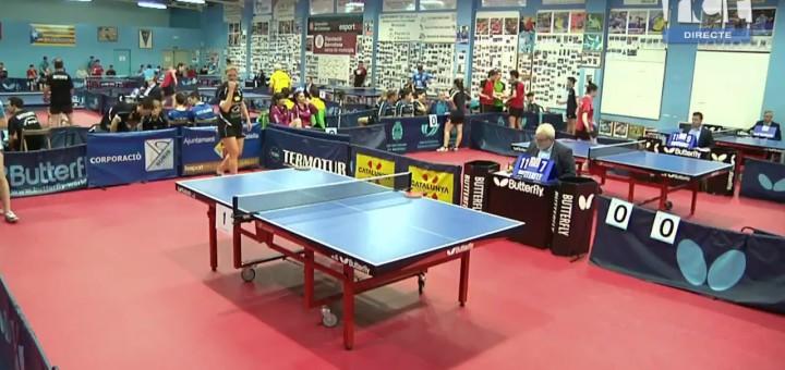 [Vídeo en directe] Tennis Taula: Campionat de Catalunya Absolut i Adaptat – CTT Calella – CTT Balaguer