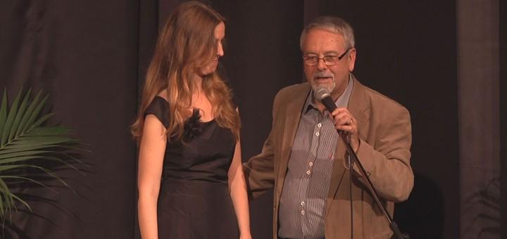 El desaparegut Ferran Musach durant una de les edicions del Festival com el d'Abans