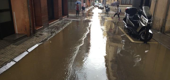sant pere inundat