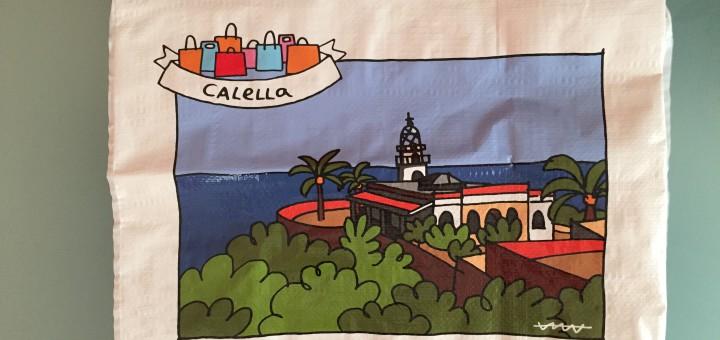 Il·lustració de la 'ecobossa' que es pot obtenir comprant als comerços addherits a la campanya.