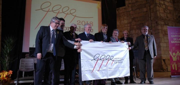 Cerimònia d'obertura de la Capitalitat de la Sardana de Montblanc