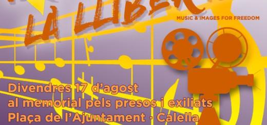 cartell música per la llibertat