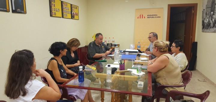 Reunió de l'executiva d'ERC de Calella