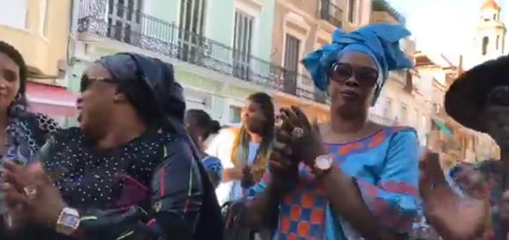 manifestació dones senegaleses
