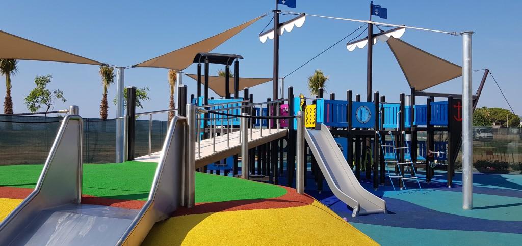 parc infantil vaixell