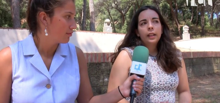 [Vídeo] [Ona Maresme] Parlem amb Queralt Pedemonte, la presidenta més jove de l'Agrupació Sardanista de Calella