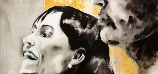 """Obra titulada """"Anonymous 3"""" del pintor Borja Altozano"""