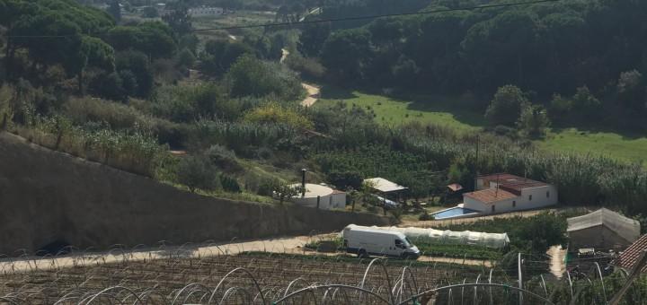 La casa del crim està situada a la part de sota del km3