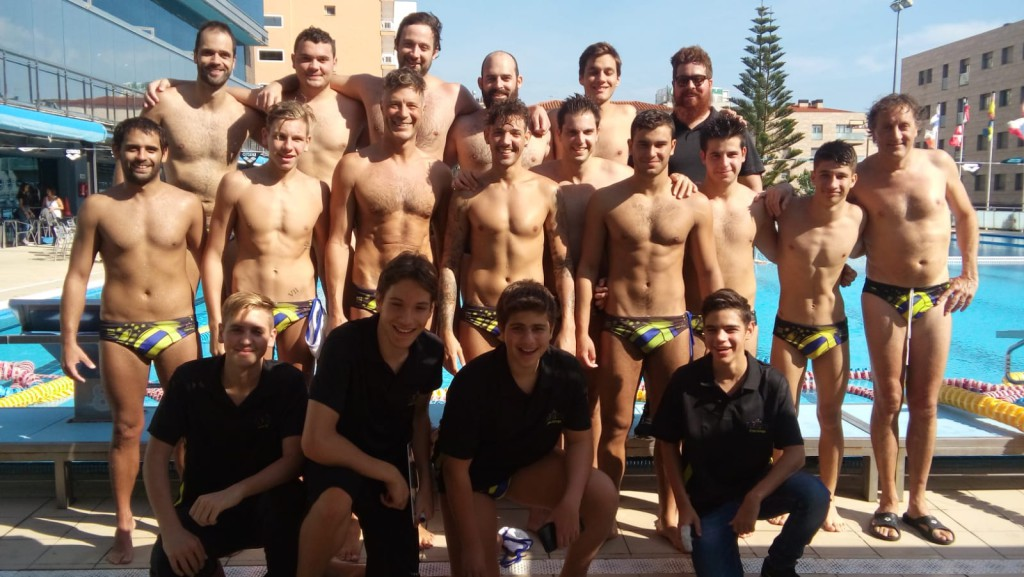 Equip absolut Club Waterpolo Calella