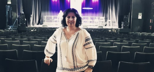 La cantant Maria Muñoz en un dels assajos a la Sala Mozart. Foto: Maria Muñoz