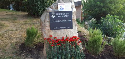 monument lluis companys marxa clavells erc