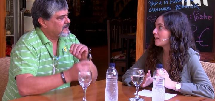 [Vídeo] Com es troba el propietari d'El Galliner un any després de posar el cartell de rebuig als cossos policials espanyols?