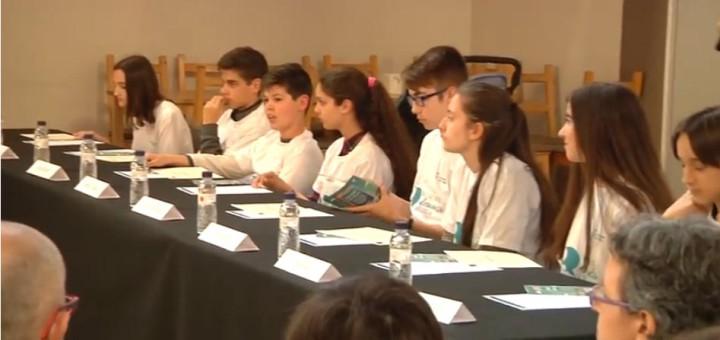 Constitució del Consell dels Adolescents l'any 2017.