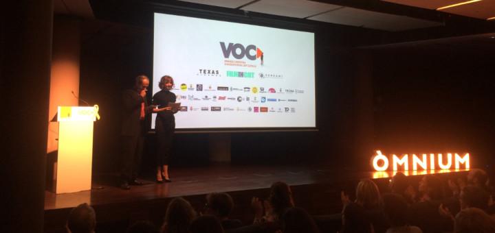 Inauguració de la tercera edició del VOC, a La Pedrera. Foto: Òmnium Cultural