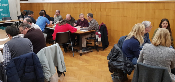 Per elaborar el Pla s'han realitzat entrevistes i tallers entre les entitats i l'Ajuntament. Foto: Marc Buch