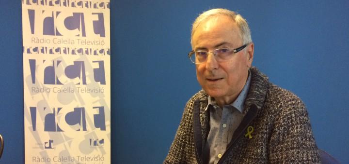 Gibert participa a les tertúlies del programa La Ciutat de Ràdio Calella TV