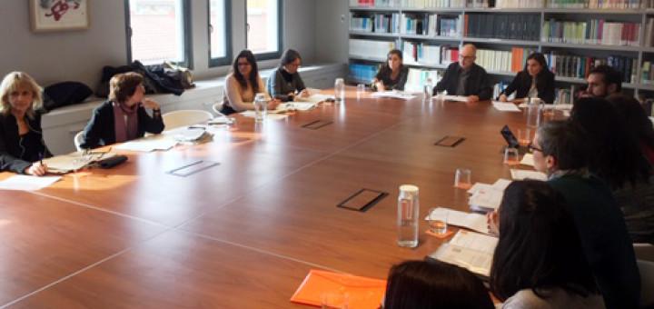 Reunió del Síndic de Greuges amb la DGAIA, el Departament de Salut i l'Ajuntament de Pineda. Font: Síndic.cat