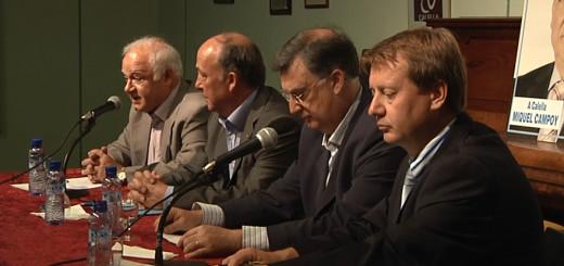 Dimitri Tarantiev, a la dreta, en un acte de campanya del PP, l'any 2011