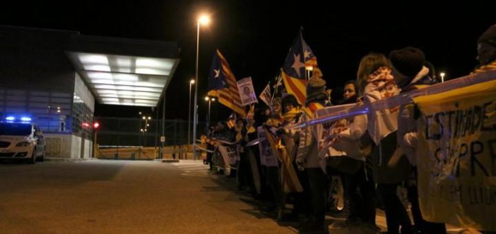 Sortida de la presó de Puig de les Basses, a Figueres