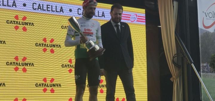 [Vídeo] Thomas De Gendt guanya la primera etapa de la Volta Ciclista a Catalunya