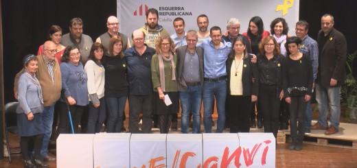 Presentació candidatura ERC