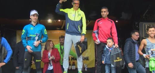 [Vídeo] Dimitrijs Sergojins i Kitija Valtere guanyadors de la Mitja Marató Costa BCN Maresme