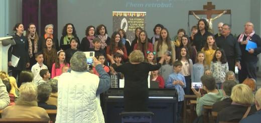[Vídeo]Concert solidari de cant coral de l'escola de música Can Llobet