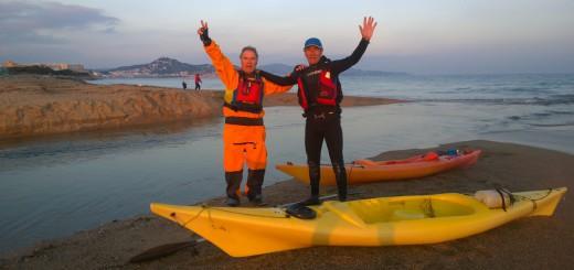 Jaume Planas i Ernest Matas completaran en caiac els  34 quilòmetres de la sisena etapa