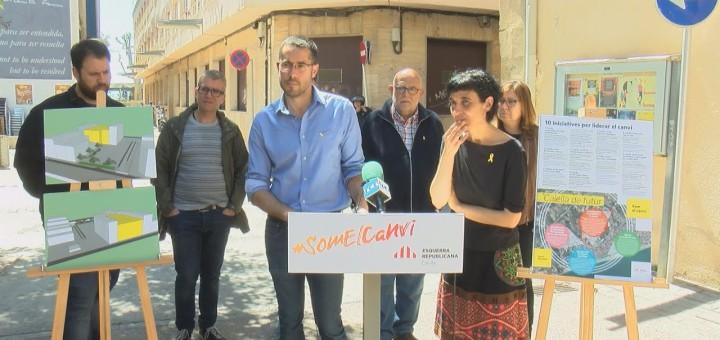 [Vídeo] ERC projecta obrir Calella al mar a través del carrer Jovara
