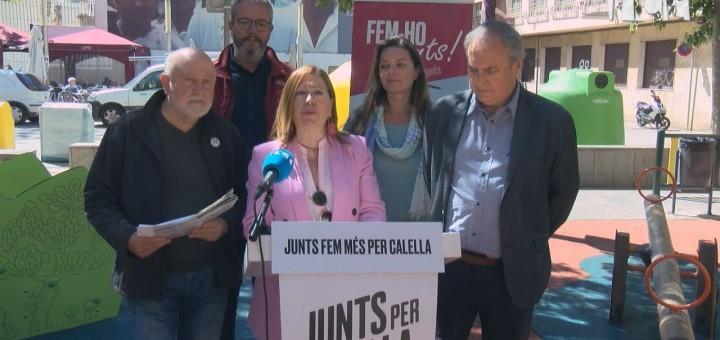 [Vídeo] Junts per Calella projecta el futur Centre Cívic a tocar de la plaça Vicenç Ferrer