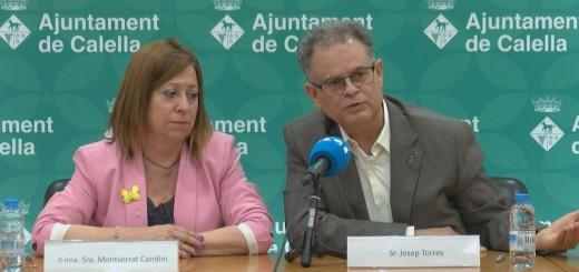 [Vídeo] Les claus de la reedició del pacte entre Junts per Calella i el PSC