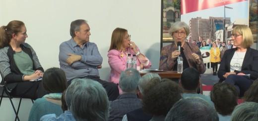 [Vídeo] L'exconsellera Rigau dona suport a Junts per Calella en l'acte de presentació del seu programa social