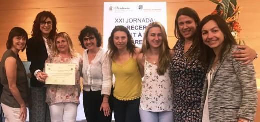 L'equip de la Corporació de Salut del Maresme i la Selva premiat en l'última edició de la jornada