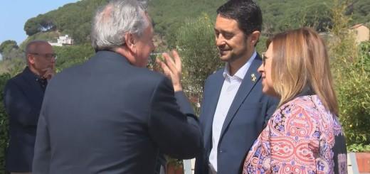 [Vídeo] El conseller de Territori i Sostenibilitat entrega les banderes blaves del 2019 a Calella