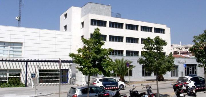 Blanes. Comissaria de Mossos d'Esquadra i jutjats. (CELOBERT)
