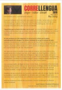 Manifest dedicat al poeta i escriptor Pere Calders