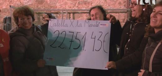 [Vídeo] Calella x La Marató recapta 22.751,43 euros per a la investigació de les malalties minoritàries