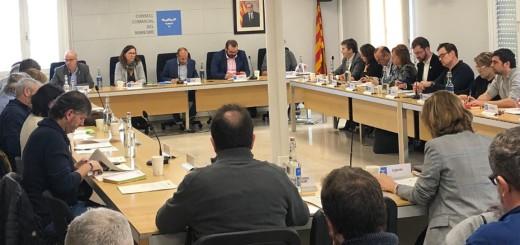 Reunió del Consell d'Alcaldes i Alcaldesses, ahir a Mataró