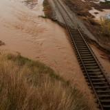 Imatge del pas del riu Tordera per Malgrat de Mar