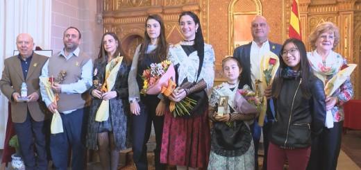 Guanyadors de la passada edició dels Jocs Florals de Calella