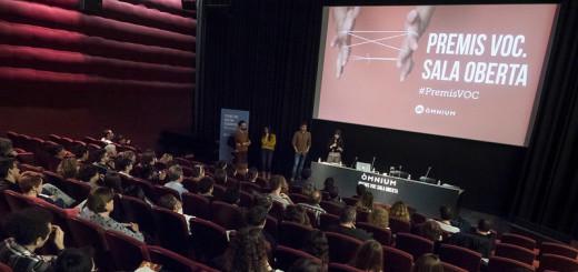Presentació dels projectes finalistes de la Sala Oberta dels Premis VOC a la Filmoteca de Catalunyan©dani codina/Òmnium
