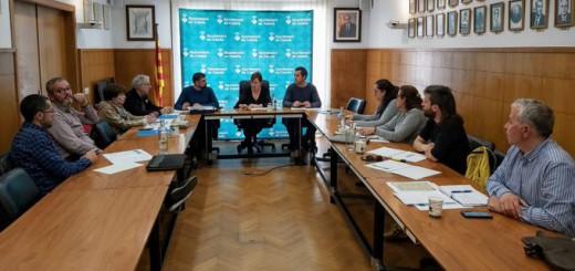 Primera reunió de portaveus presencial sobre la crisi del coronavirus