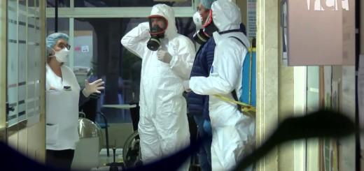 [Vídeo] Desinfecten la residència Mar i Sol per evitar contagis de coronavirus