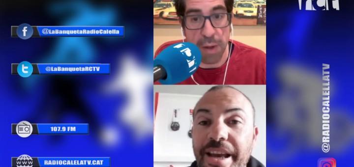[Vídeo] El president dimitit del Tricbm Agustí Pérez respòn les preguntes de Ràdio Calella Televisió