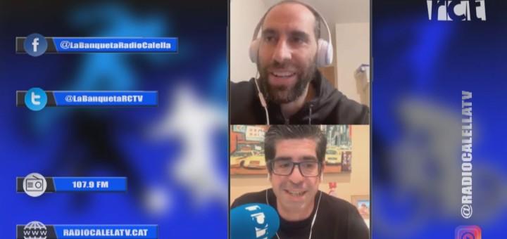[Vídeo] La Banqueta. Avui parlem amb Marc Martinez de l'Ueh Calella I amb el pilot d'Skeleton Ander Mirambell
