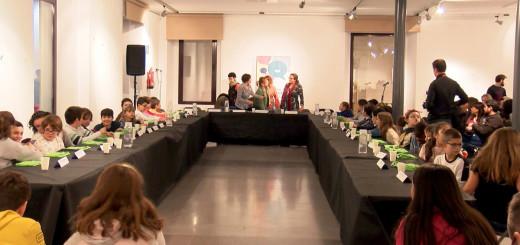 El Consell dels Infants del 2019 es va constituir a la sala d'exposicions de l'Ajuntament Vell