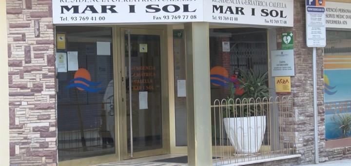 La residència Mar i Sol és una de les quatre que funciona a Calella i on s'ha fet el cribatge de coronavirus als usuaris